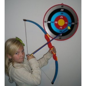 Hammond toys Toy Bow and Arrow Set with Suction Cup Arrows and Target Archery