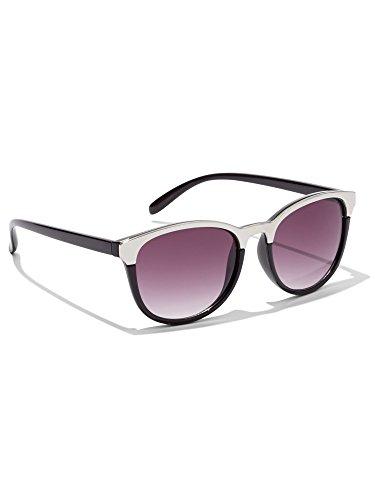 - New York & Co. Women's Metal-Rim Sunglasses 0 Black