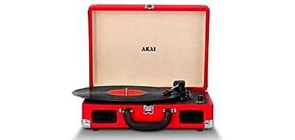 Akai R45OR - Tocadiscos con Bluetooth, Color Naranja: Amazon.es ...