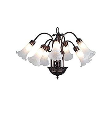 White Pond Lily Chandelier