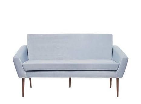 Sternzeit-design - Banqueta de Terciopelo Vintage para sofá ...