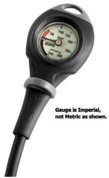 Mares Mission 1 Compact Pressure Gauge Imperial - Gauge Console Mini