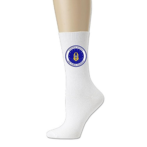 Men Casual Socks Women Crew Sock 78% Cotton / 20% Nylon / 2% Spandex - Air Force Reserve (Reserve Command Patch)