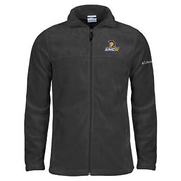 new arrival e37e6 db583 Amazon.com : UNCG Columbia Full Zip Charcoal Fleece Jacket ...