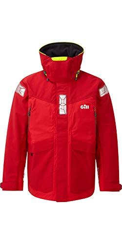 GILL OS24 Men's Offshore Jacket (Medium, Red)