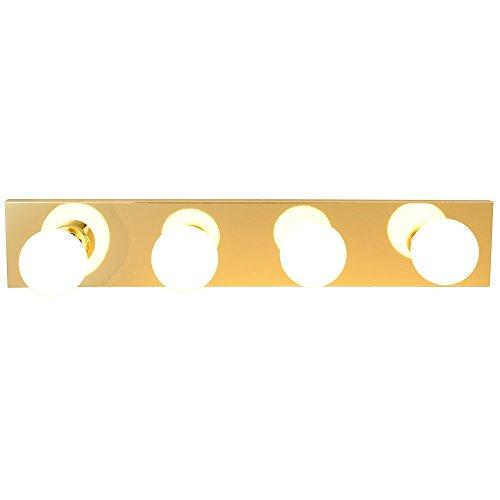 Royal Cove 671611  Vanity Lighting Strip, Polished Brass, 24 In. - Brass Wall Mount Vanity