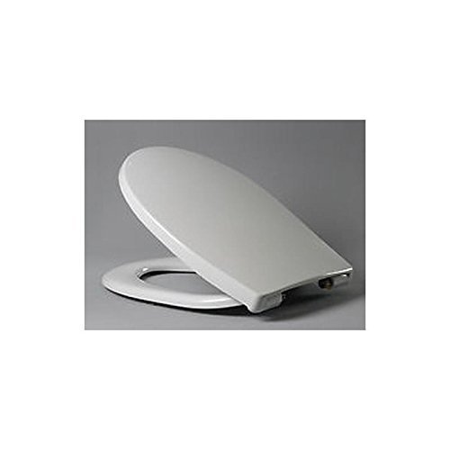Haro 512131 Bathroom Toilet Seat with Soft-Close Lid and Detachable Fitting Set of 1 White by Unbekannt - Haro Seats