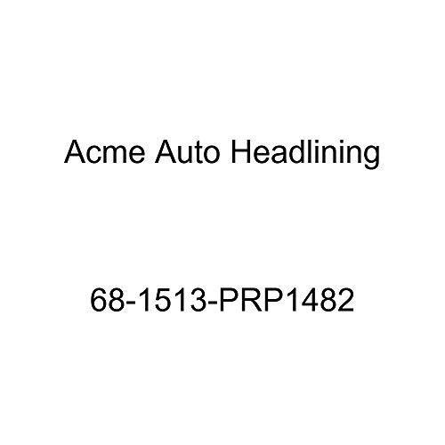 Acme Auto Headlining 68-1513-PRP1482 Medium Blue Replacement Headliner (Pontiac Firebird 2 Door Hardtop 5 Bow)