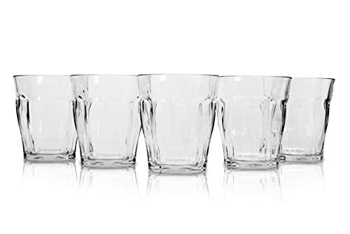 Cheap Tritan Tumbler Unbreakable Glasses 9.4 Oz Reusable Shatterproof Plastic Water Cup Clear Drinkware for Cocktail Juice Beer made in JAPAN by Earblis – Set Of 5