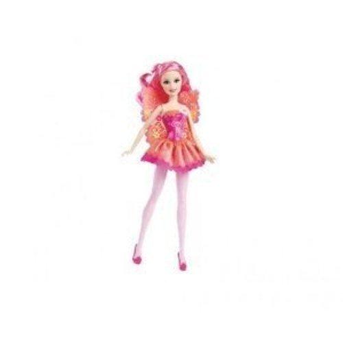 Mattel Barbie Fairy Secret Doll in Pink]()
