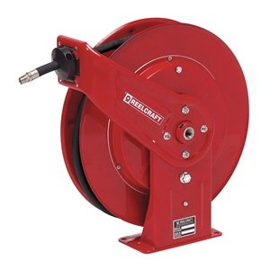 Hose Reel, Spring Return, 1/2 In ID x 30Ft by Reelcraft