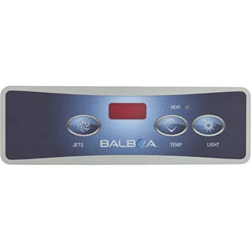 Balboa Lite Duplex Digital Panel - Balboa Water Group 10753 Lite Duplex Digital Overlay Panel