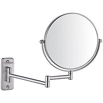 Amazon Com Alhakin Wall Mounted Makeup Mirror 10x