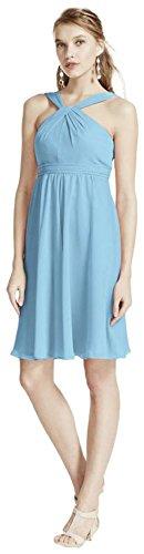 Buy capri color bridesmaid dresses - 3