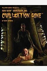 Dead Reign - Sourcebook: Civilization Gone Paperback