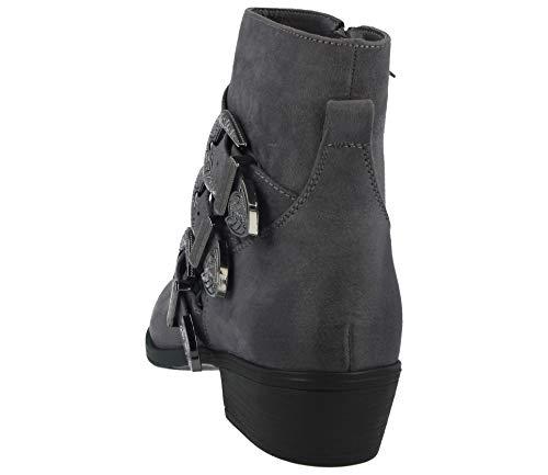 Footwear Grey Foster Suede Bottines Femme Classiques faux 7OOBdq