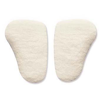 HAPAD Longitudinal Metatarsal Arch Pads, 7/16 inch, Medium, pack of 12 pairs