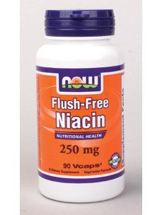 NOW Foods Flush-Free Niacin 90 Veg Caps