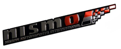 Nissan Nismo Emblem Badge Nameplate Decal Rare JDM Tuning
