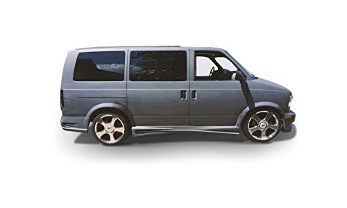 4 (GMC Safari Van 1995-2004) Hollywood Style 2 Piece Polyurethane Side Skirts made by KBD Body Kits. Extremely Durable, Easy Installation, Guaranteed Fitment and Made in the USA! ()