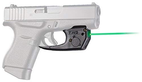 ArmaLaser Glock 42 43 43X 48 TR5G Super-Bright Green Laser Sight with Grip Activation (Best Laser For Glock 43)