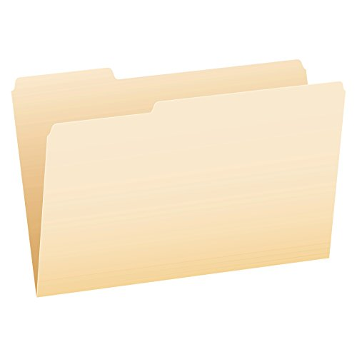 Pendaflex File Folders, Legal Size, Manila, 1/3 Cut, 100/BX (753 -