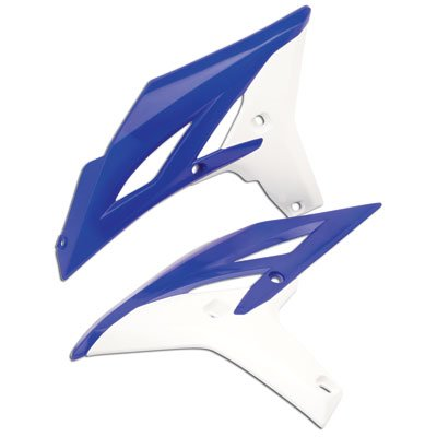 Acerbis Radiator Scoops YZ Blue//White for Yamaha WR450F 2012-2015
