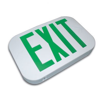 (Thermo Plastic Snap Design Exit Sign LED Color: Red)