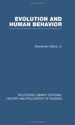 Evolution and Human Behaviour: An Introduction to Darwinian Anthropology