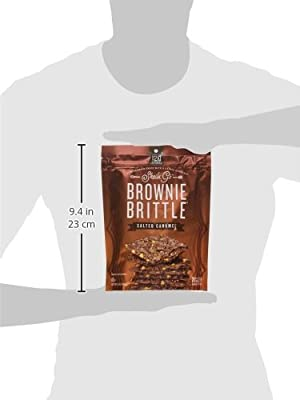 Sheila G's Brownie Brittle, Salted Caramel, 5-Ounce (Pack of 6)
