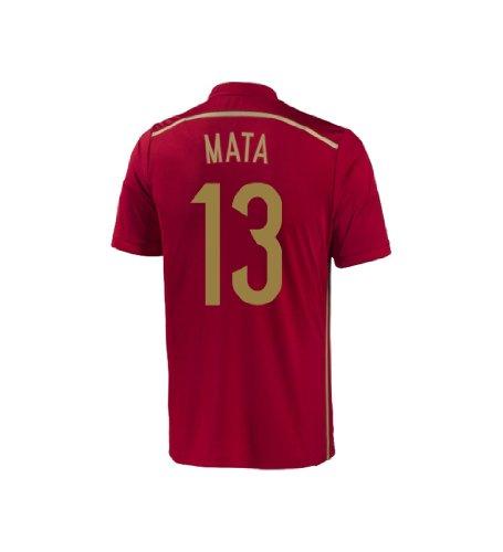 Adidas MATA #13 Spain Home Jersey World Cup 2014 YOUTH (YXL)