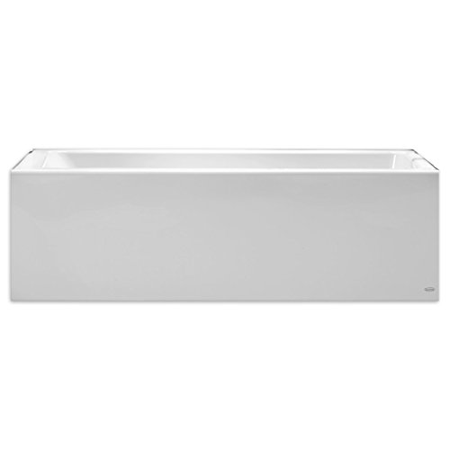 - American Standard 2946202.011 Studio 60 Inch by 32 Inch Bathtub with Apron-Left Drain, Arctic