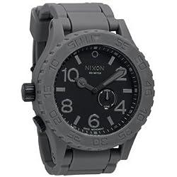 Nixon Men's A236-195 Simplify Charcoal Rubber Watch