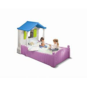 Amazon Com Little Tikes Storybook Cottage Twin Bed