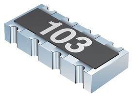 BOURNS CAT16-103J8LF RESISTOR ISO ARRAY, 8RES 10KOHM, 5%, SMD (1 piece)