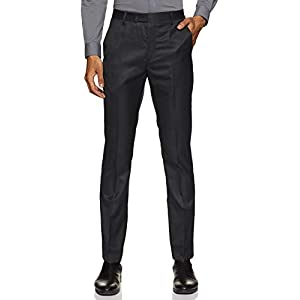 Bradstreet by Arrow Men's Tapered Fit Formal Trousers