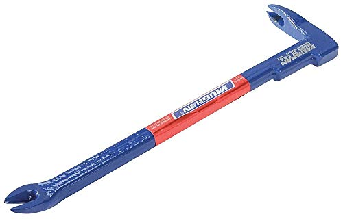 Vaughan 7-7/8'' x 2'' Steel Japanese Style Nail Puller, Blue - BC8- Pack of 2