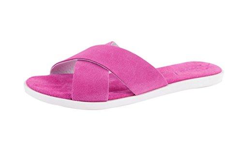 Busche Womens Serraje Mules Pink Pink