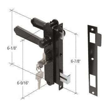 Crl Mortise Lock For Sliding Glass Patio Doors By Traco 3