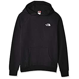 THE NORTH FACE Men's Raglan Red Box Pullover Hoodie, Black