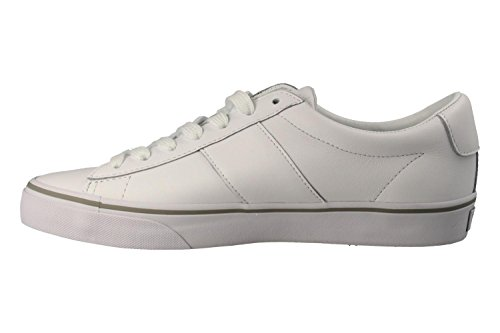 Sayer Blanc Baskets Mode Homme Ralph Polo Lauren 86qAE