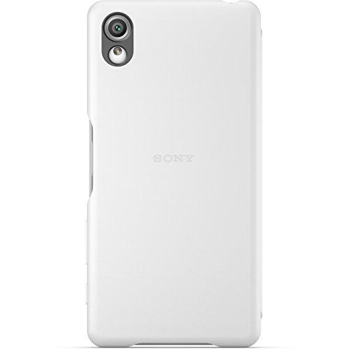 Sony Style Cover Flip SCR54 - Funda con tapa para móvil Xperia XA, color blanco