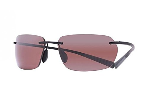 Maui Jim Alaka'I Polarized Sunglasses Gloss Black / Maui Rose One Size