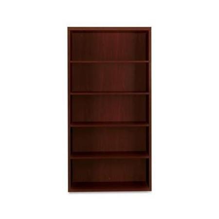 (HON 11555AXNN Valido 11500 Series Bookcase, Five-Shelf, 36w x 13-1/8d x 71h, Mahogany)