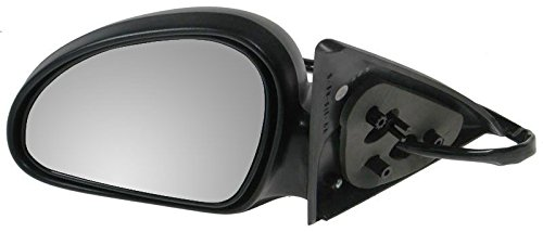 Power Side View Mirror Driver Left LH for 98-03 Escort ZX2 2 Door Coupe ()