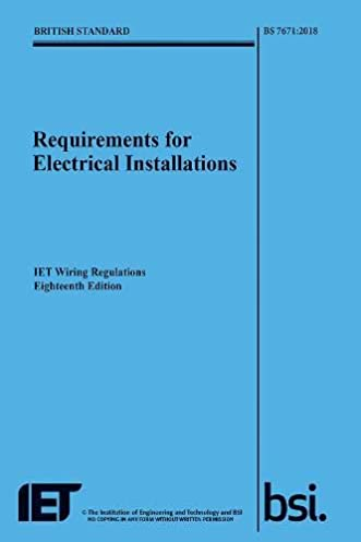requirements for electrical installations iet wiring regulations rh amazon co uk