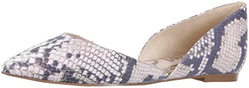 Sam Edelman Women's Rodney Ballet Flat, Pink Snake Leather, 6 M US