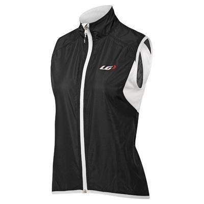 Louis Garneau Women's Nova Vest (Black and White, Large) ()