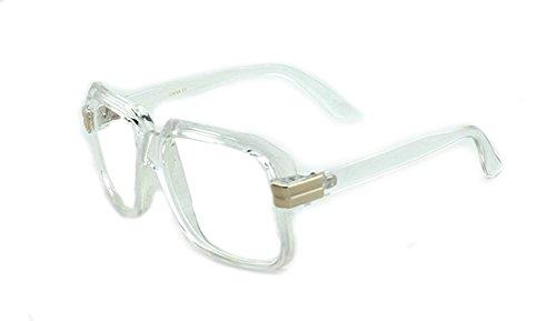 Newbee Fashion - IG 80's Old School Rapper Hip Hop DJ Short Trim - School Hop Old Glasses Hip