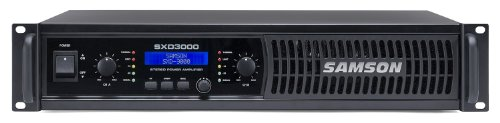 Samson SXD3000 Power Amplifier with DSP by Samson Technologies